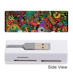 Monsters Colorful Doodle Memory Card Reader (stick)