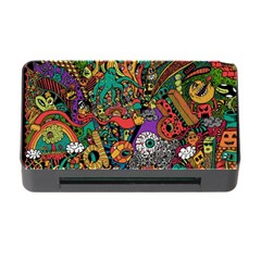 Monsters Colorful Doodle Memory Card Reader With Cf