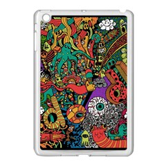 Monsters Colorful Doodle Apple Ipad Mini Case (white)