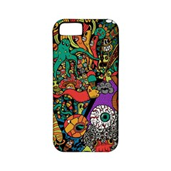Monsters Colorful Doodle Apple Iphone 5 Classic Hardshell Case (pc+silicone)