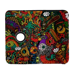 Monsters Colorful Doodle Galaxy S3 (flip/folio)