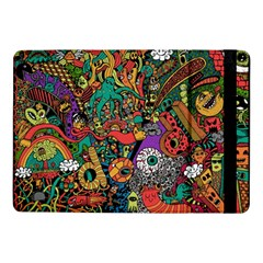 Monsters Colorful Doodle Samsung Galaxy Tab Pro 10 1  Flip Case