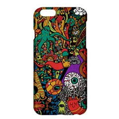 Monsters Colorful Doodle Apple Iphone 6 Plus/6s Plus Hardshell Case
