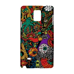 Monsters Colorful Doodle Samsung Galaxy Note 4 Hardshell Case