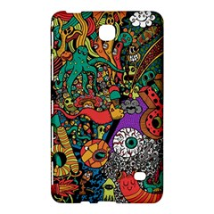Monsters Colorful Doodle Samsung Galaxy Tab 4 (7 ) Hardshell Case