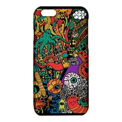 Monsters Colorful Doodle iPhone 6/6S TPU Case