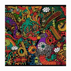 Monsters Colorful Doodle Medium Glasses Cloth (2 Side)
