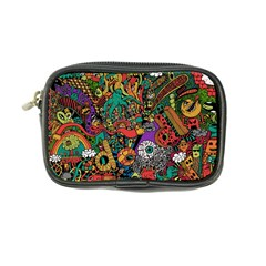 Monsters Colorful Doodle Coin Purse