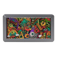 Monsters Colorful Doodle Memory Card Reader (mini)