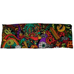 Monsters Colorful Doodle Body Pillow Case Dakimakura (two Sides)