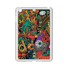 Monsters Colorful Doodle iPad Mini 2 Enamel Coated Cases
