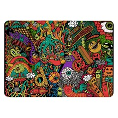 Monsters Colorful Doodle Samsung Galaxy Tab 8.9  P7300 Flip Case