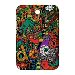 Monsters Colorful Doodle Samsung Galaxy Note 8 0 N5100 Hardshell Case