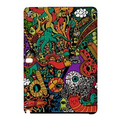 Monsters Colorful Doodle Samsung Galaxy Tab Pro 10 1 Hardshell Case