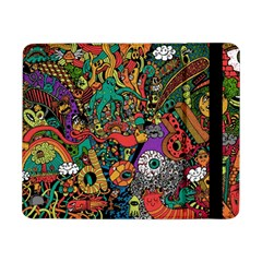Monsters Colorful Doodle Samsung Galaxy Tab Pro 8 4  Flip Case