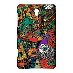 Monsters Colorful Doodle Samsung Galaxy Tab S (8.4 ) Hardshell Case