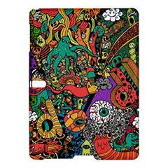 Monsters Colorful Doodle Samsung Galaxy Tab S (10 5 ) Hardshell Case