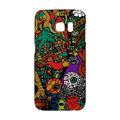 Monsters Colorful Doodle Galaxy S6 Edge