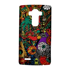 Monsters Colorful Doodle LG G4 Hardshell Case