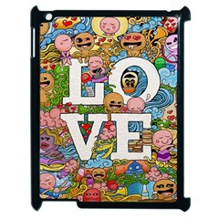 Doodle Art Love Doodles Apple Ipad 2 Case (black)