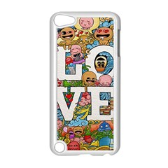 Doodle Art Love Doodles Apple Ipod Touch 5 Case (white)