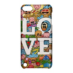Doodle Art Love Doodles Apple Ipod Touch 5 Hardshell Case With Stand