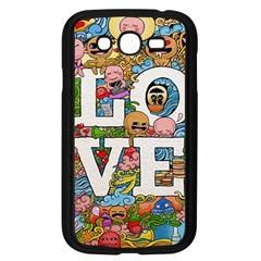 Doodle Art Love Doodles Samsung Galaxy Grand Duos I9082 Case (black)