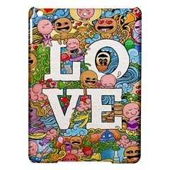 Doodle Art Love Doodles Ipad Air Hardshell Cases