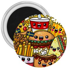 Cute Food Wallpaper Picture 3  Magnets