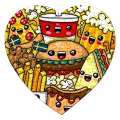 Cute Food Wallpaper Picture Jigsaw Puzzle (heart)