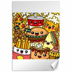 Cute Food Wallpaper Picture Canvas 12  X 18