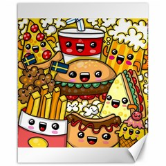 Cute Food Wallpaper Picture Canvas 16  X 20