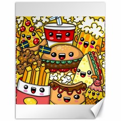 Cute Food Wallpaper Picture Canvas 18  X 24