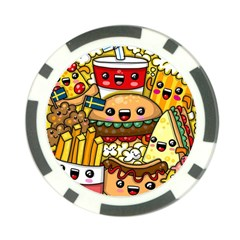 Cute Food Wallpaper Picture Poker Chip Card Guard