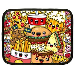 Cute Food Wallpaper Picture Netbook Case (Large)