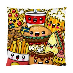 Cute Food Wallpaper Picture Standard Cushion Case (One Side)