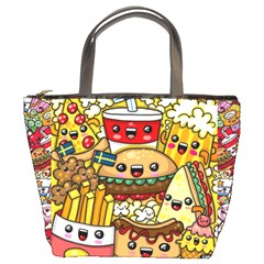 Cute Food Wallpaper Picture Bucket Bags