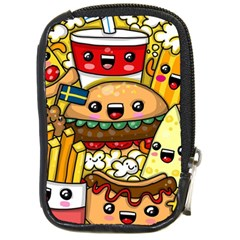 Cute Food Wallpaper Picture Compact Camera Cases