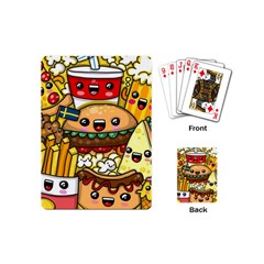 Cute Food Wallpaper Picture Playing Cards (Mini)