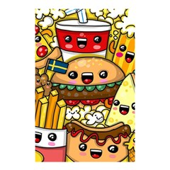 Cute Food Wallpaper Picture Shower Curtain 48  X 72  (small)