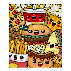 Cute Food Wallpaper Picture Shower Curtain 60  x 72  (Medium)
