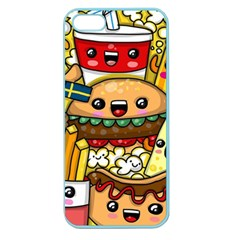 Cute Food Wallpaper Picture Apple Seamless Iphone 5 Case (color)