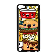 Cute Food Wallpaper Picture Apple Ipod Touch 5 Case (black)