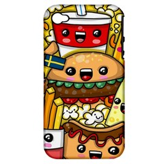 Cute Food Wallpaper Picture Apple Iphone 4/4s Hardshell Case (pc+silicone)