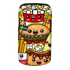 Cute Food Wallpaper Picture Samsung Galaxy S Iii Classic Hardshell Case (pc+silicone)