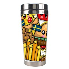 Cute Food Wallpaper Picture Stainless Steel Travel Tumblers