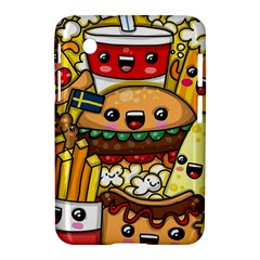 Cute Food Wallpaper Picture Samsung Galaxy Tab 2 (7 ) P3100 Hardshell Case