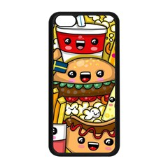Cute Food Wallpaper Picture Apple Iphone 5c Seamless Case (black)