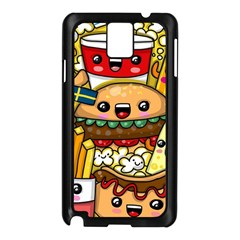 Cute Food Wallpaper Picture Samsung Galaxy Note 3 N9005 Case (black)