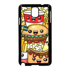 Cute Food Wallpaper Picture Samsung Galaxy Note 3 Neo Hardshell Case (black)